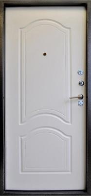 Дверь металлическая с кованными элементами внутренняя сторона